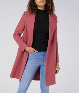 Riverdale S04 Betty Cooper Pink Trench Coat