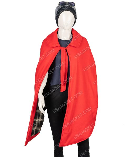 Little Women Red Wool-blend Jo March Cloak