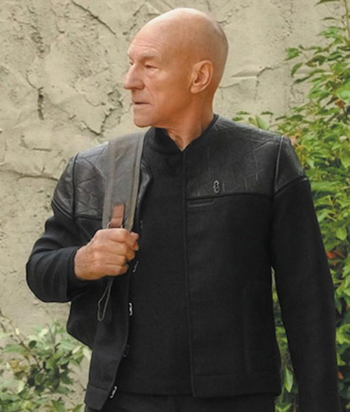 Jean-Luc Picard Star Trek Picard Jacket