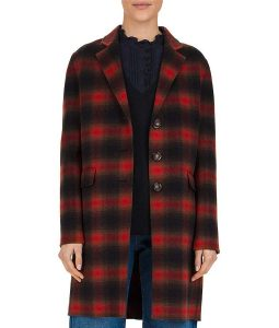 Dex Parios Stumptown Plaid Coat