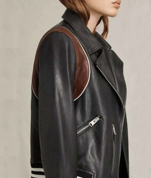 Stumptown Cobie Smulders Motorcycle Leather Jacket