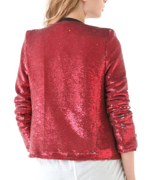 Taylor Swift Red moto Jacket
