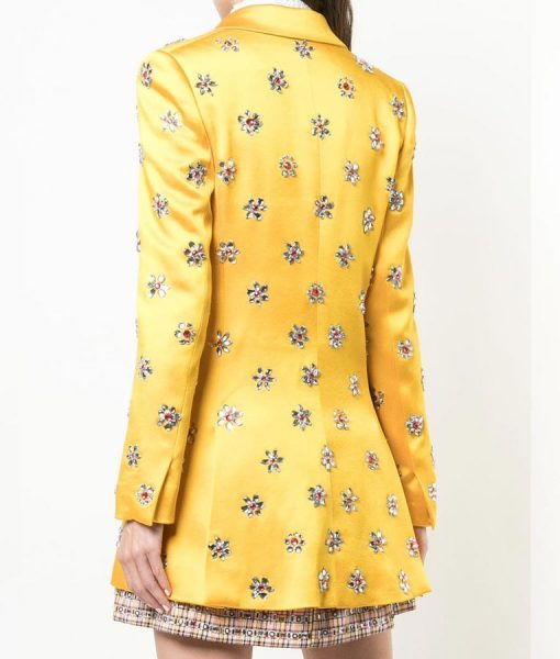 Satin Yellow Coat