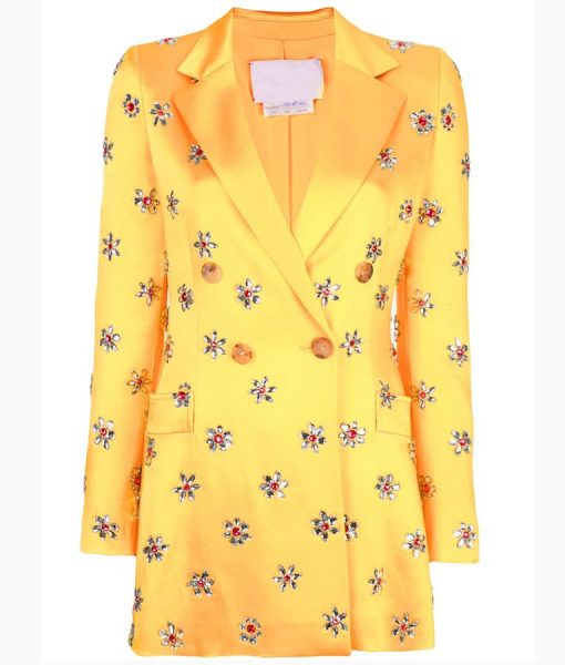 Taylor Swift Yellow Coat