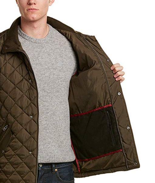 The Bachelor Quilted Barn Jacket