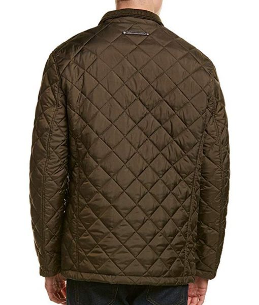 The Bachelor Peter Weber Quilted Barn Jacket