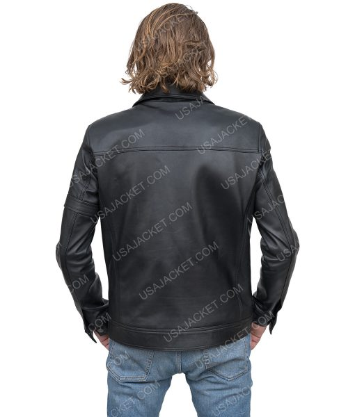 The Falcon And The Winter Soldier Bucky Barnes Black Jacket