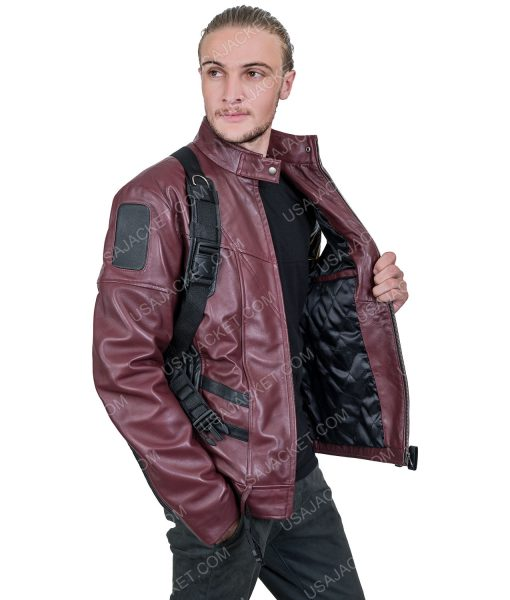The Falcon and the winter solder Bucky Barnes Leather Jacket