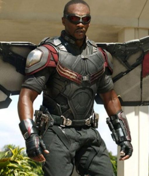 The Falcon And The Winter Soldier Falcon Costume Jacket
