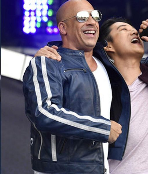 The Road To Fast and Furious 9 Concert Vin Diesel Leather Jacket