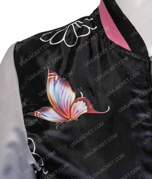 Marvel's Runaways Karolina Dean Embroidered Bomber Jacket