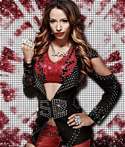 WWE Sasha Black Studded Jacket