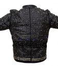 WWE WrestleMania Chris Jericho Sparkle Light Up Leather Jacket