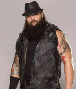 WWE Wrestler Bray Wyatt Leather Vest
