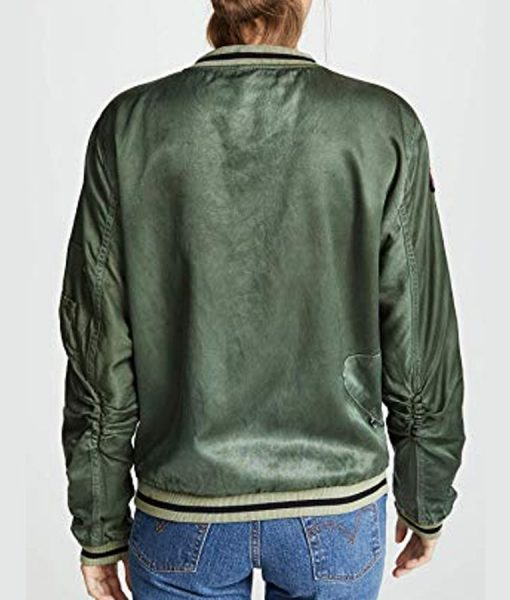 You Season 02 Love Quinn Satin Jacket