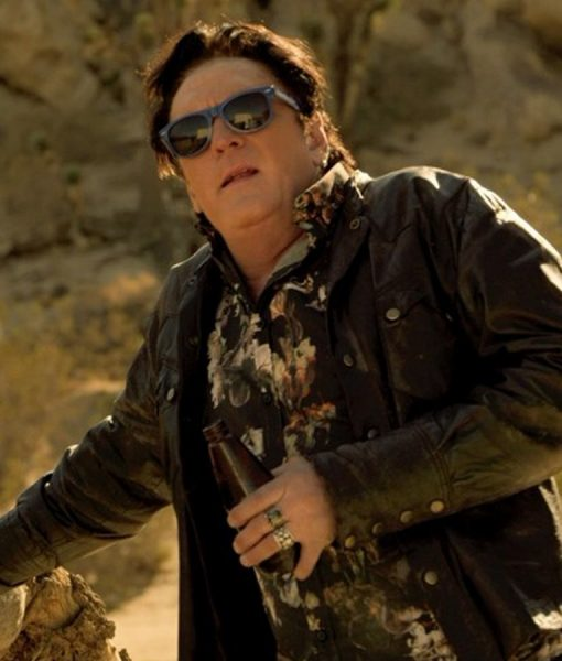 2 Graves in the Desert Vince Leather Jacket