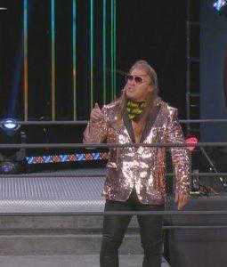 AEW Dynamite Chris Jericho Sequins Blazer