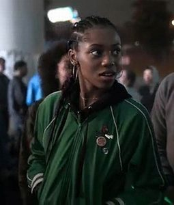Hailey Kilgore Amazing Stories Green Bomber Jacket