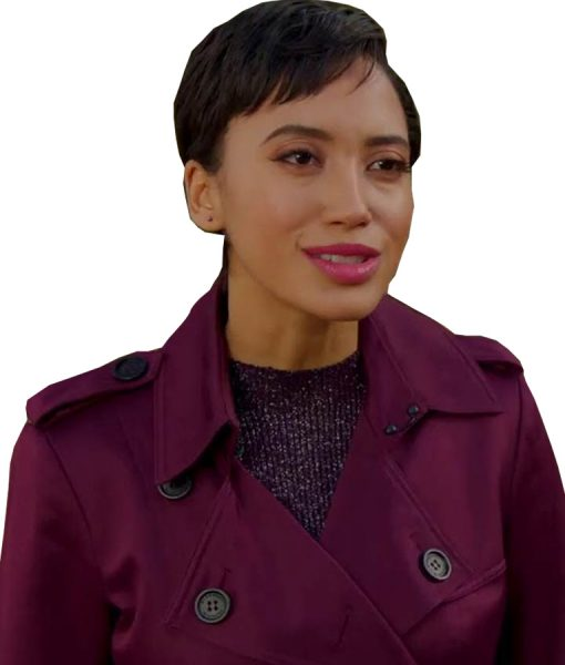 Andy Allo Upload Nora Double-Breasted Coat For Women's