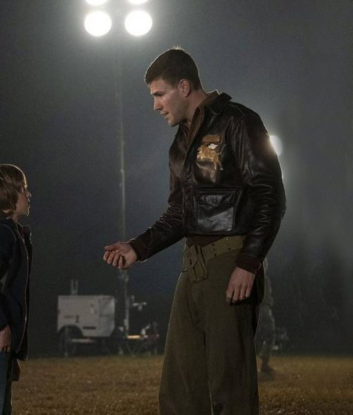 Austin Stowell Amazing Stories Leather Jacket