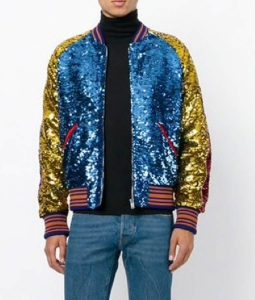 BTS Jimin DNA Style Sequin Jacket