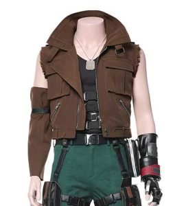 Barret Wallace Final Fantasy VII Remake Vest