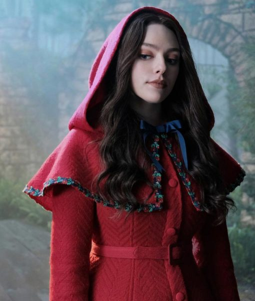 Danielle Rose Russell Red Legacies S02 Hooded Coat