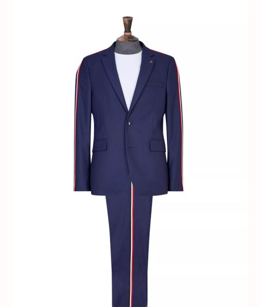 Elite S03 Guzmán Side Stripe Suit Jacket