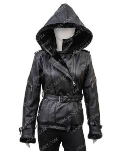 Emma Swan Asymmetrical Black jacket