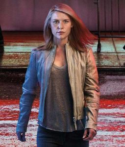 Homeland S08 Ep6 Carrie Mathison leatherJacket