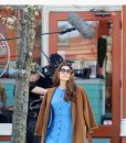Marisa Tomei Human Capital Brown Coat
