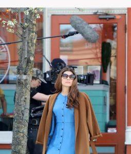 Marisa Tomei Human Capital Brown Coat