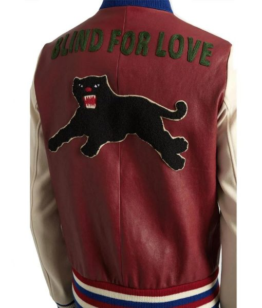 Blind for Love J Hope Leather Bomber Jacket