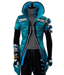 League Of Legends True Damage Yasuo Hooded Coat