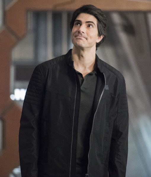 Legends of Tomorrow S05 Brandon Routh Black Jacket