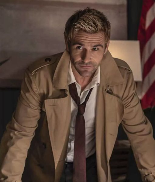 Legends of Tomorrow S05 John Constantine Double Breasted Coat