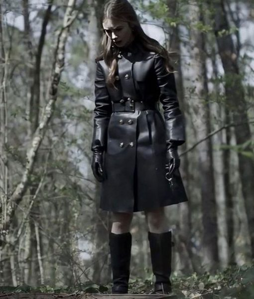 Inheritance Lauren Leather Coat