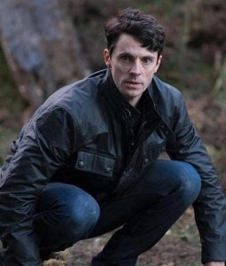 Matthew Clairmont A Discovery of Witches Black leather Jacket