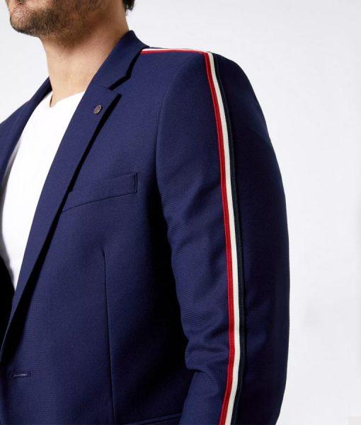 Miguel Bernardeau Elite S03 Side Stripe Suit Jacket