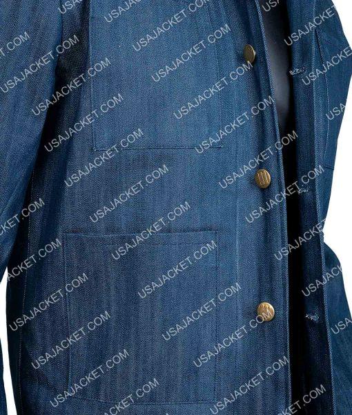 Joe Goldberg Blue Denim Jacket