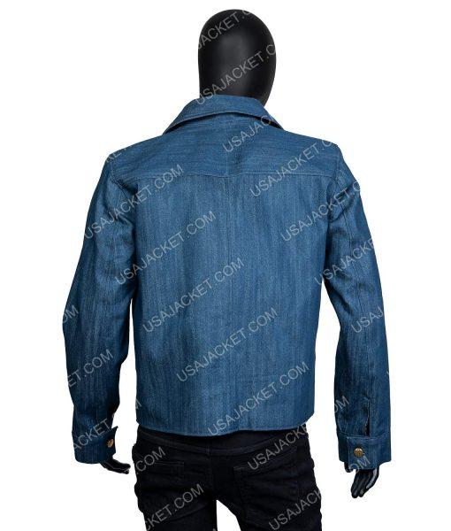 Penn Badgley You Season 2 Joe Goldberg Blue Jacket