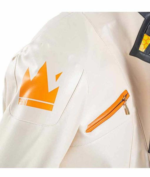 Phoenix Fiery White Jacket
