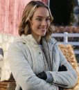 Rachel Skarsten Timeless Love White Quilted Jacket