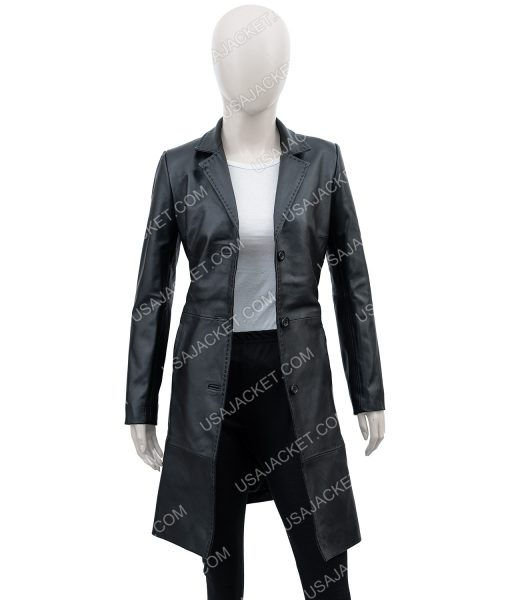 High Fidelity Zoe Kravitz long Coat