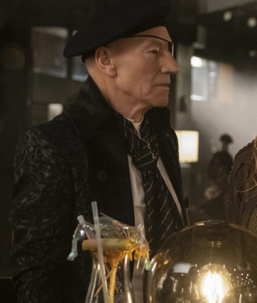 Star Trek Picard Jean-Luc Picard Black Suit