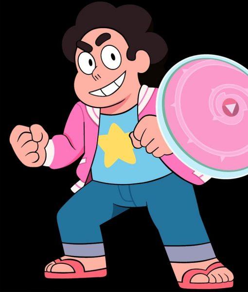 Steven Universe pink Varsity Jacket