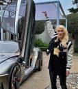 Supercar Blondie MCM Letterman Jacket