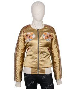 Stain Silk The Cradle Tomb Raider Of Life Lara Croft Jacket
