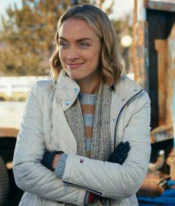 Rachel Skarsten Timeless Love White QuiltedJacket