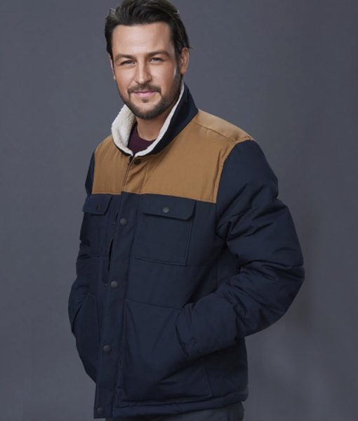 Winter In Vail Owen Jacket With Sherpa Collar